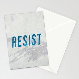 RESIST 2.0 - Blue #resistance Stationery Cards