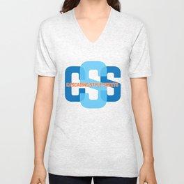 Webdesign CSS Unisex V-Neck