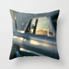 smooth ride Throw Pillow