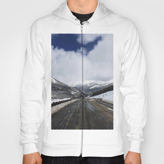 Snowy Road Hoody