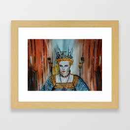 Queen Charlize Framed Art Print