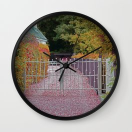 Welcome Gates Wall Clock