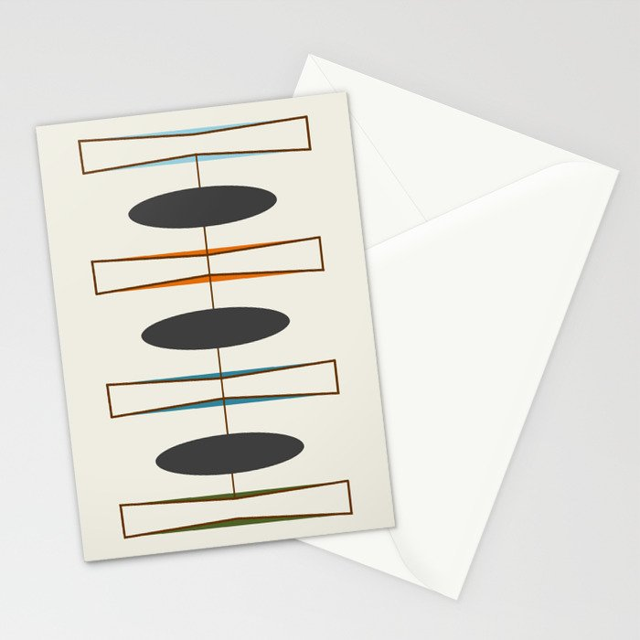 Mid-Century Modern 1.1 Stationery Cards