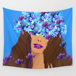 WOMAN I KNOW WHO I AM Wall Tapestry