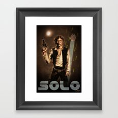 Solo Framed Art Print
