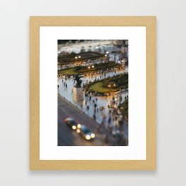 Small Places from the Big Mexico City Series (III) Framed Art Print