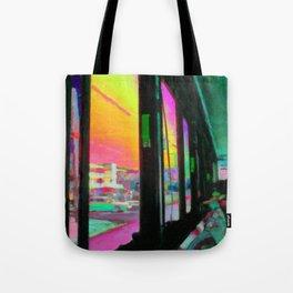 Acid bus trip Tote Bag