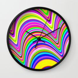 Ease Up Wall Clock