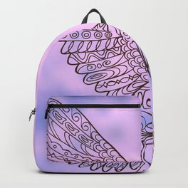 seagull in the sky Backpack