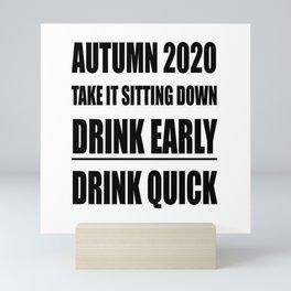 Autumn 2020 Take It Sitting Down Mini Art Print
