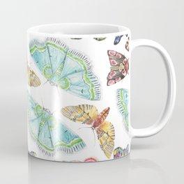 Nature Illustration of Moths Coffee Mug