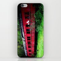 ohio iPhone & iPod Skins featuring Ohio Train  by Jean Dougherty