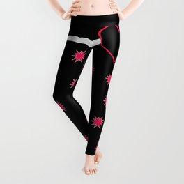 Pink Black Collection Leggings
