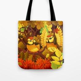 The seasons | Autumn birds Tote Bag