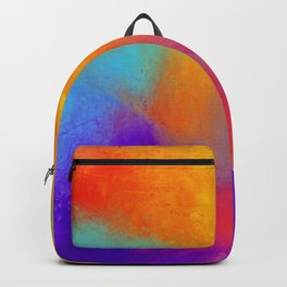 Summer Storm Abstract Painting Backpack