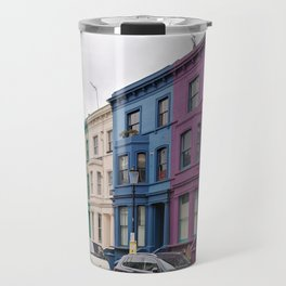 Rainbow Row Notting Hill Travel Mug
