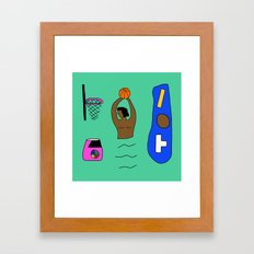 SLAM DUNK  Framed Art Print