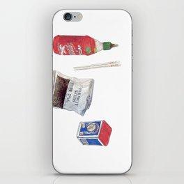food stuffs iPhone Skin