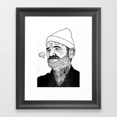 Team Zissou Framed Art Print