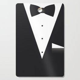 Bow Tie Suit Cutting Board