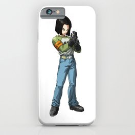 Android 17 iPhone Case