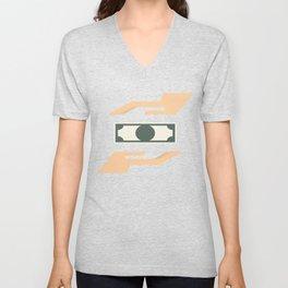 Money Transaction Unisex V-Neck
