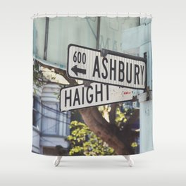 Haight Ashbury Shower Curtain