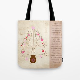 Hearts in Bloom Tote Bag