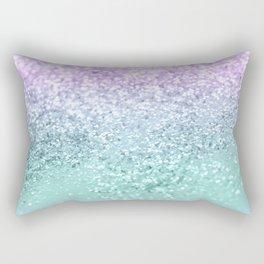 Mermaid Girls Glitter #1 #shiny #decor #art #society6 Rectangular Pillow