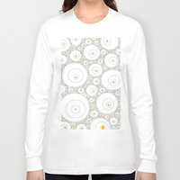 eggs Long Sleeve T-shirts featuring Eggs by Alisa Galitsyna