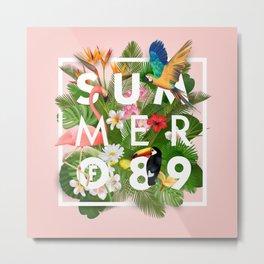 SUMMER of 89 Metal Print