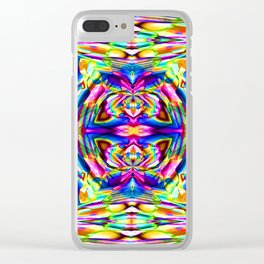 Pattern-316 Clear iPhone Case