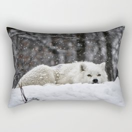 Dreams of warmer weather Rectangular Pillow