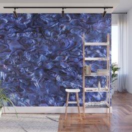 Abalone Shell | Paua Shell | Sea Shells | Patterns in Nature | Dark Blue Tint | Wall Mural