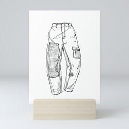 Trousers Mini Art Print