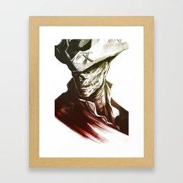 FALLOUT 4 John Hancock fanart Framed Art Print