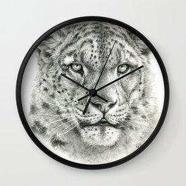 Snow Leopard - G043 Wall Clock