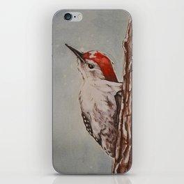 Downy Woodpecker iPhone Skin