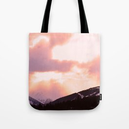Rose Quartz Turbulence - II Tote Bag