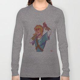Ponytail Link Long Sleeve T-shirt