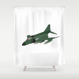 F-4 Phantom Jet Interceptor Shower Curtain
