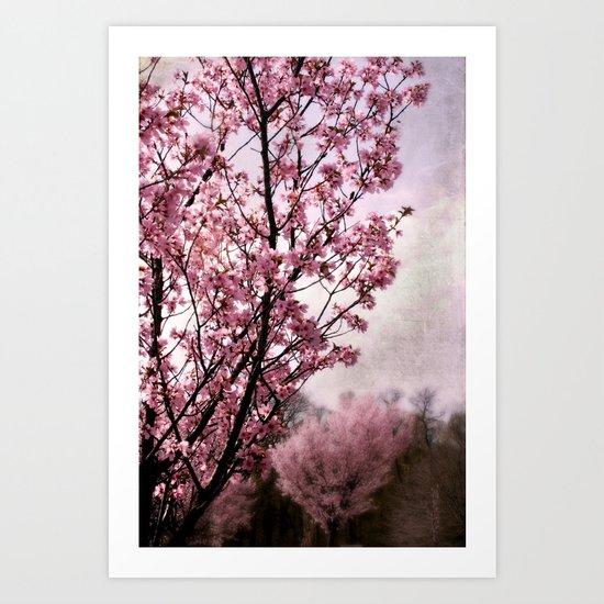 Blossom Pink Bliss Art Print