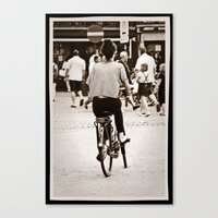 yowamushi pedal Canvas Prints featuring Pedal power by adman_1979