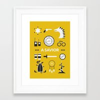 ouat Framed Art Prints featuring OUAT - A Savior by Redel Bautista