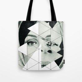 Frau mit Dreieck 3 Tote Bag