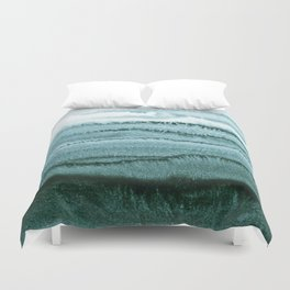 WITHIN THE TIDES - OCEAN TEAL Duvet Cover