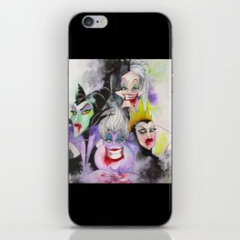 Abstract Villains iPhone Skin
