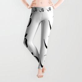 OM or Aum symbol Leggings