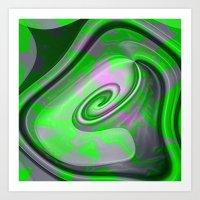 "malachite Art Prints featuring "" Malachite ""  by shiva camille"
