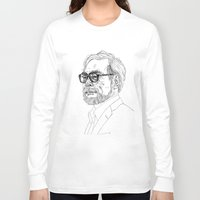 miyazaki Long Sleeve T-shirts featuring Hayao Miyazaki by Andy Christofi
